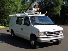 Ford: E-Series Van E350 CARGO COMMERCIAL BOOM BUCKET/BOOTH TRUCK/VAN!