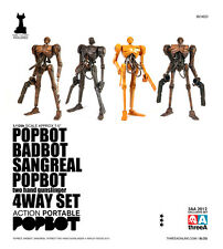 3A THREEA ASHLEY WOOD Action Portable Popbot super pack set of 4 1/12 NEW MISB