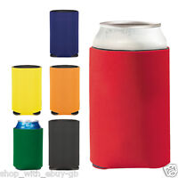 10 x KOOZIE™ Can Cooler Quality Drinks Chill Insulated Holder Summer Beer Sun
