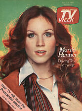 Chicago Tv Week Guide~Marilu Henner~Taxi~Barbra Streisand~A Star Is Born