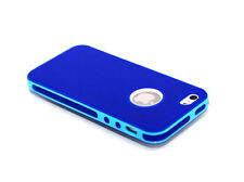 New  Hybrid Rugged Rubber Matte  PC Bumper Case Cover For iPhone 5 5S G + Flim