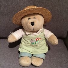 Starbucks Bearista 47th Edition Summer Gardener Teddy Bear 2008 w Tag