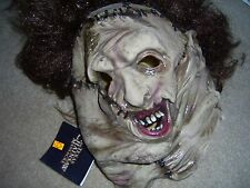 Deluxe Leatherface Mask Texas Chainsaw Massacre Horror,  New Line Cinema
