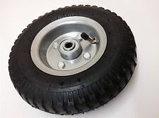 "2 x 8"" AIR WHEEL TYRE 2.50-4 4 PLY METAL RIM 4PR TROLLEY GO KART CARTS PNEUMATIC"