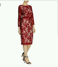 COAST * CORALLA * LACE MULBERRY DRESS SIZE 18 NEW WITH TAGS