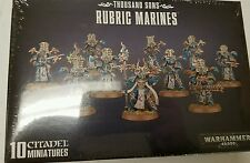 Warhamer 40K Horus Heresy Thousand Sons RUBRIC MARINES