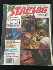 STAR WARS 1983 RETURN OF THE JEDI STARLOG MAGAZINE NICE !!ATARI ADS...