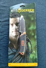 Gerber-Bear Grylls-compact fixed blade survival Knife