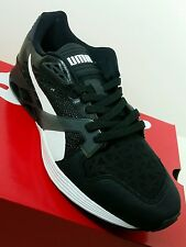 NEW PUMA Men's Shoes FUTURE XT-RUNNER MEN'S SNEAKERS Size 9 Black White Dark