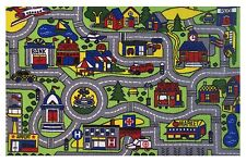 "Car Play Fun Rugs  DRIVING TIME FT-103 1929 Play Rug 19"" X 29""  New"