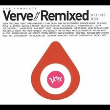 The Complete Verve Remixed by Various Artists (CD, Nov-2005, 4 Discs, Verve)