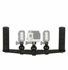 Underwater Camera Tray with Handles For GoPro and KNOG Qudos FLEX-ARM  ST201.22