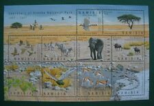 "NAMIBIA Block ""Centenary of Etosha National Park 1907-2007"" postfrisch (Y176)"