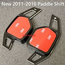 Aluminium black paddle shift extensions audi volant gear shifters P4 n
