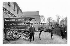 pt8472 - Doncaster & Balby Old Laundry Horse & Cart , Yorkshire - photograph 6x4