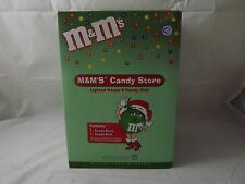 NEW Open Box 2004 M&M's Candy Store Lighted House and Candy Dish Dept 56