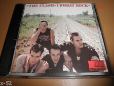 CLASH cd COMBAT ROCK the casbah SHOULD I STAY OR GO mick jones STRAIGHT TO HELL