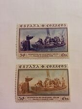 Spanish stamps-1930-Christopher Columbus & the discovery of America/ships.unused