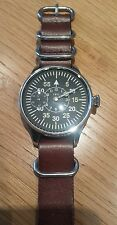 Vintage Men's IWC - International Watch Company Stainless Steel Military Watch
