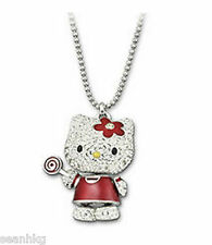 Swarovski 3D Hello Kitty Lollipop Pendant Crystal Authentic - 1120583