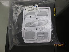 New OEM Mopar 07-16 JK Jeep Wrangler Freedom Top Panel Storage Bag 68087383AA