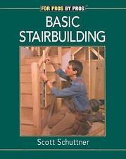 Fine Homebuilding DVD Workshop Ser.: Basic Stairbuilding by Scott Schuttner...