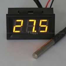 temperature Tester -67~+257 Fahrenheit Degrees Digital Thermometer 12V 24V CAR Y