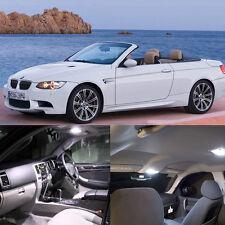 Error Free White 17Pcs Lights LED Interior Kit For BMW E93 Convertible 335i M3 #