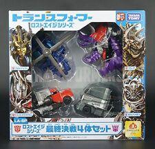 LA-SP Galvatron + Drift + Slug +Silver Knight Optimus Prime Transformer Lost Age