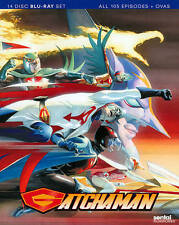 BLU-RAY Gatchaman: Complete Collection (Blu-Ray, 14 Disc Set) NEW