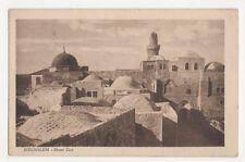 Palestine, Jerusalem, Mount Zion Postcard, B215