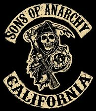 SONS OF ANARCHY TV Show POSTER FX Biker Hells Angels Motorcycle Art 24X32 Inch