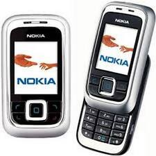 BLACK NOKIA 6111 SLIDE MOBILE PHONE-UNLOCKED WITH NEW HOUSE CHARGAR AND WARRANTY