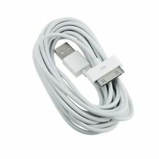 Long 3m 10ft USB Cable for iPhone 4 4S Data Sync Charger Extension Lead