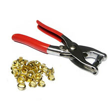 Heavy Duty Eyelet Plier Hole Push Tool Card Making Paper Craft