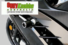 OK603 KAWASAKI NINJA 300 2012-16 OGGY KNOBBS KIT (BLACK KNOBS) Crash Protection