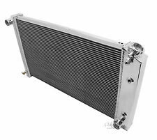 68 69 70 71 72 73 Chevy Chevelle Champion 4 Row Aluminum Radiator MC161