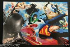 SDCC Comic Con 2012 EXCLUSIVE DC Superman Flash Batman KULT Promo Lobby card