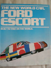 Ford USA Escort brochure Aug 1980