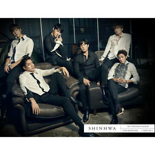 SHINHWA-[UNCHANGING-TOUCH] 13th Album CD+Photo Book+Photo Card K-POP Sealed