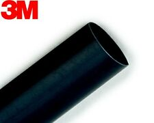 3M FP-301 BLACK HEAT SHRINK TUBING (1/4 inch x 4 feet) , From USA