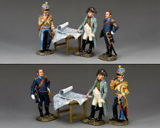 KING AND COUNTRY NAPOLEONIC The Emperor Napoleon & His Aide de Camps NA375