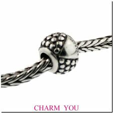 Authentic Trollbeads Sterling Silver 11252 ETRUSCAN Bead