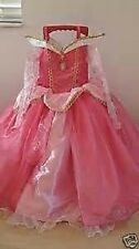 DISNEY STORE DELUXE SLEEPING BEAUTY COSTUME 7-8-NEW