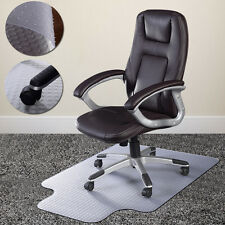 PVC  Home Office Chair Floor Mat Studded Back with Lip for Standard Pile Ca