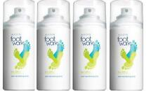Lot of 4 AVON Foot Works Healthy Deodorizing Foot Spray 3.5 oz. odor neutralizer