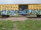 Railroad Graffiti Calendar 2014