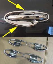 Chrome Door Handle Bowl Cover Trim for 2015-2016 KIA SORENTO abs