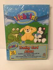 WEBKINZ Trading Card Album Holds 96 Cards Acid Free BRAND NEW FACTORY SEALED
