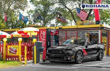 20x9 +42 20x10 +45 Rohana RC7 5x114.3 Wheel Fit Graphite Ford Mustang Roush 2014